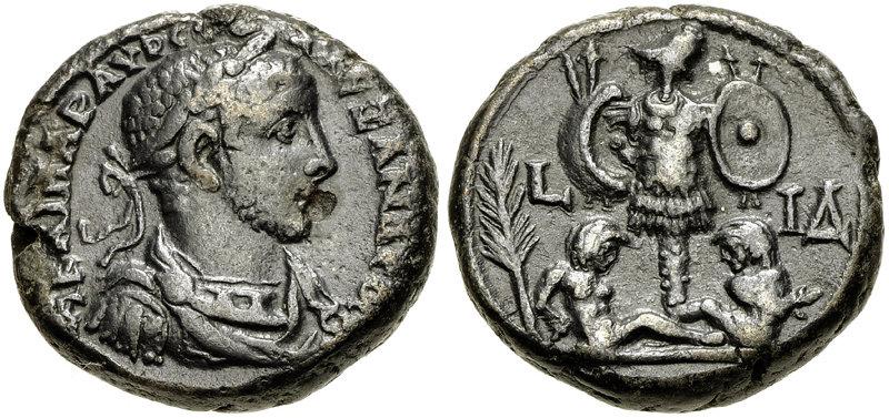 Вид древнегреческих монет