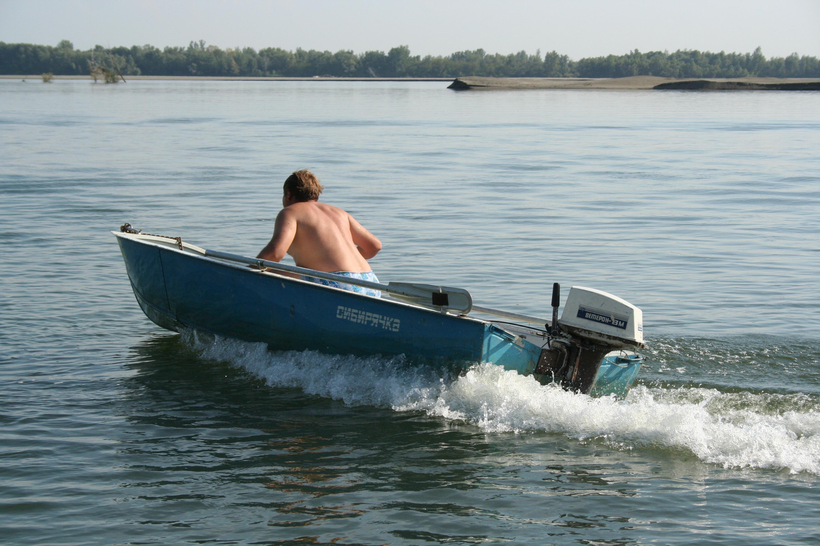 моторная лодка фото