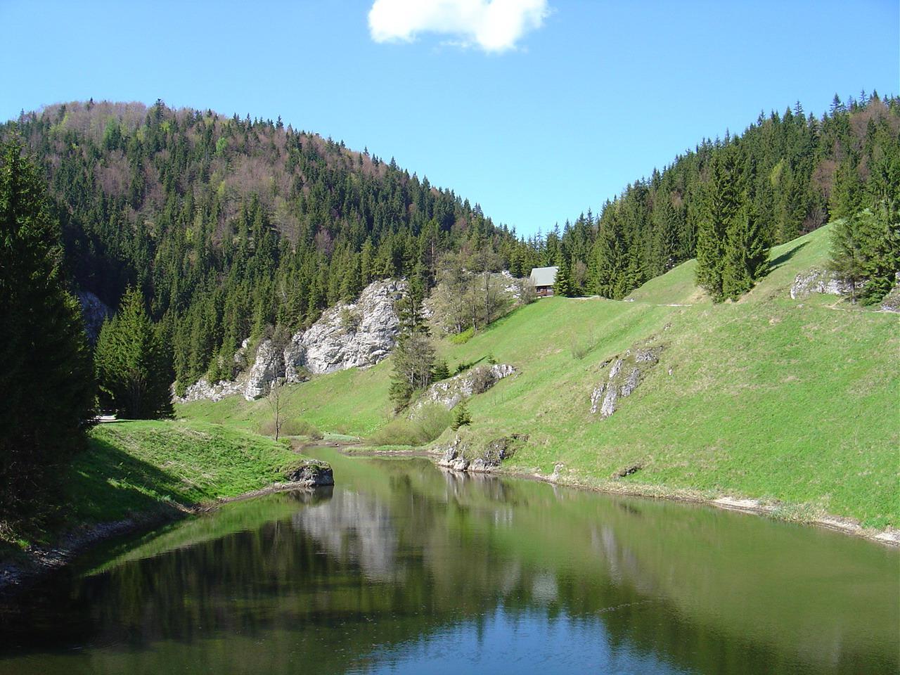национальные парки словакия