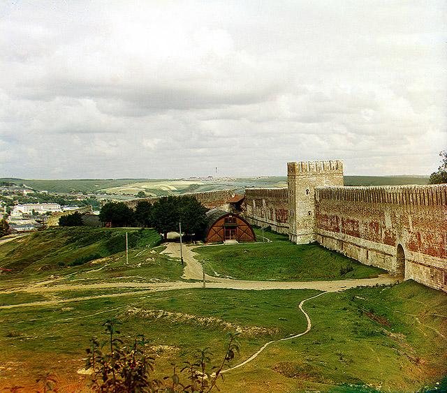 Стена Смоленского кремля в
