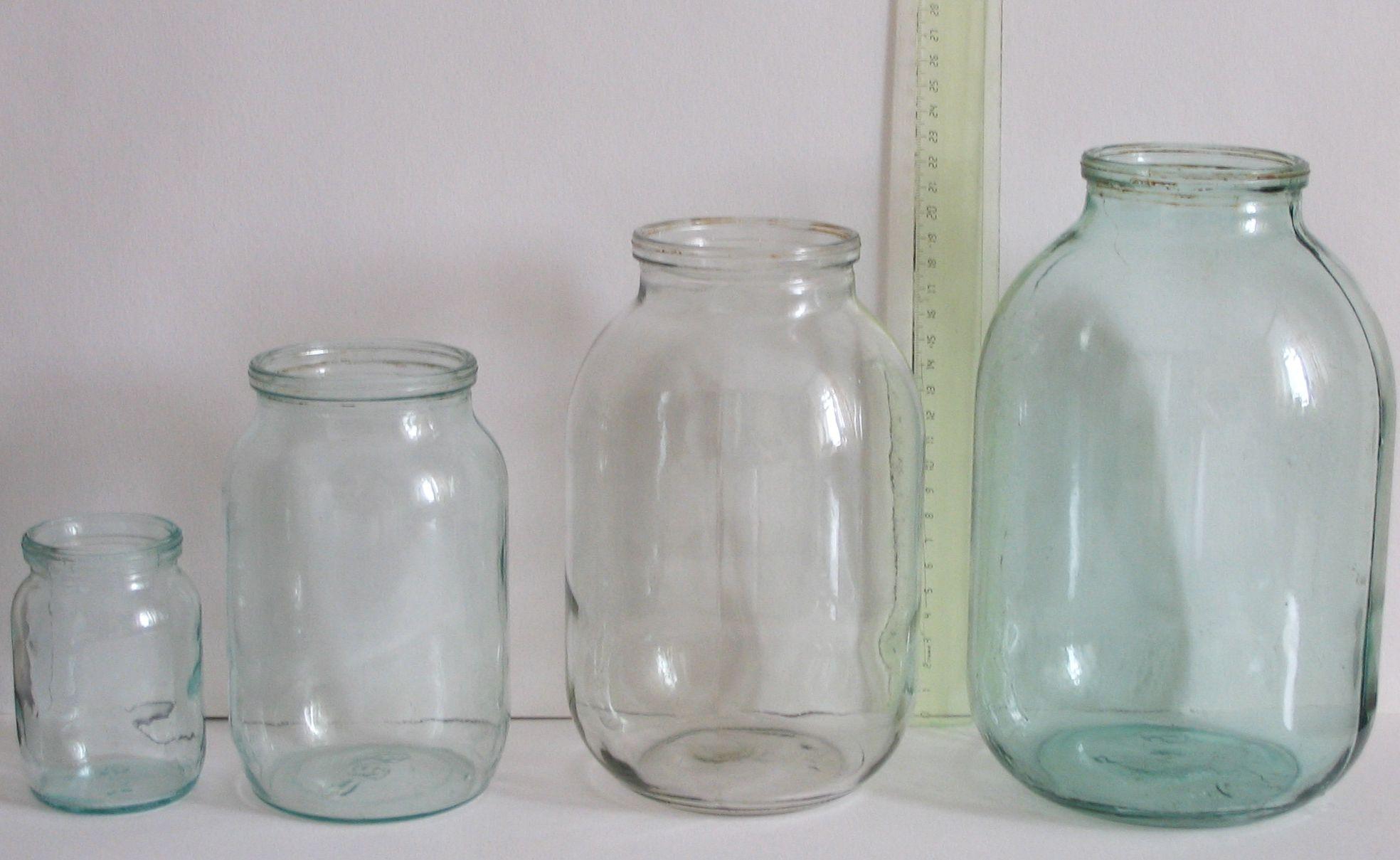пол литровые банки фото