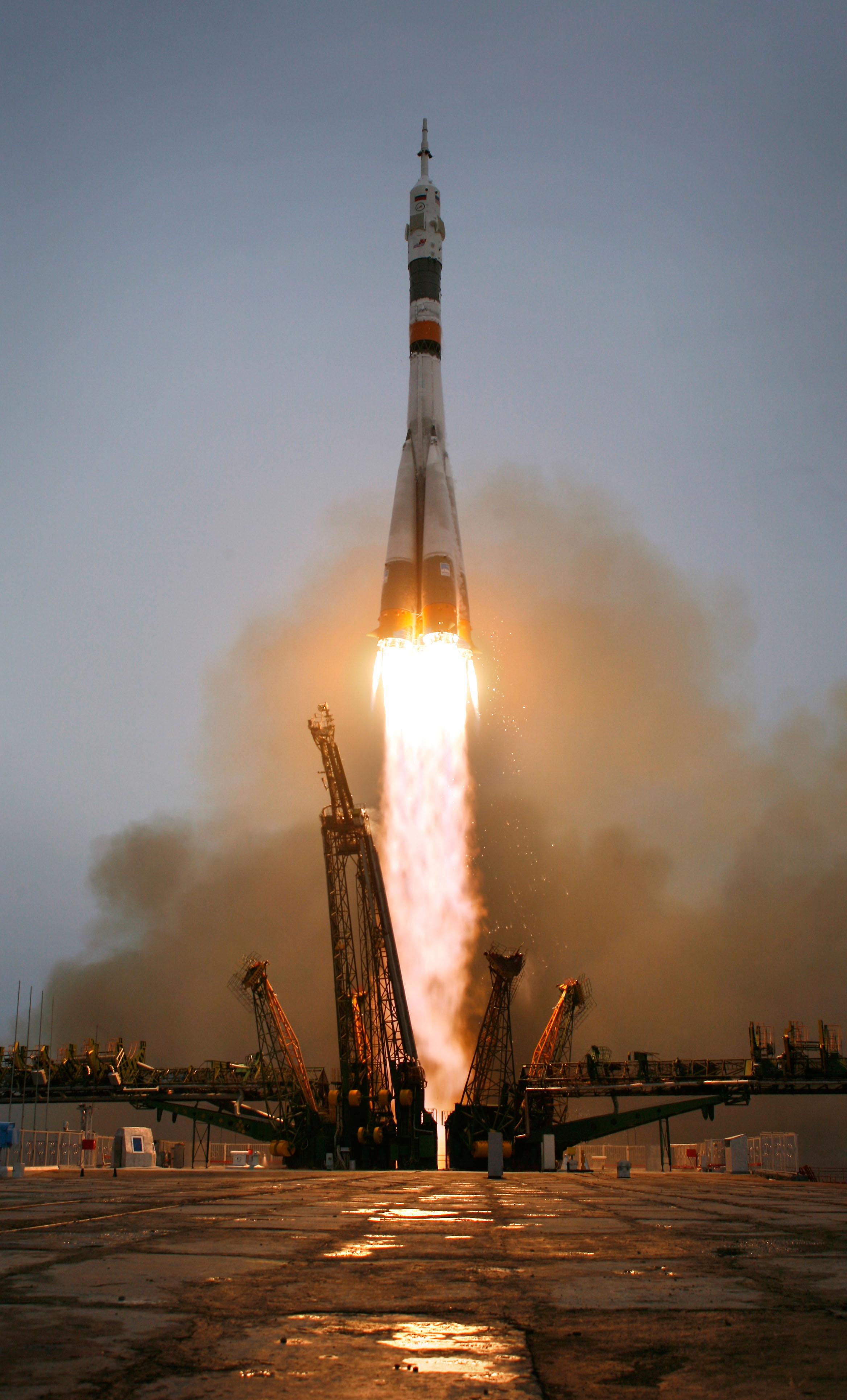 С космодрома «Восточный» стартовала ракета «Союз-2.1а ...