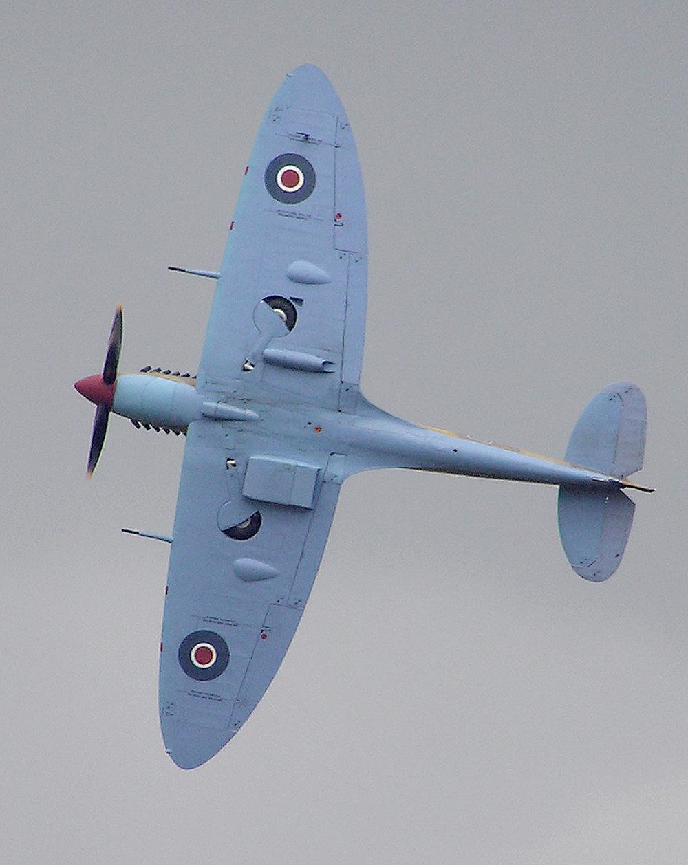Обои Spitfire Mk.XVI, Packard Merlin 266, Royal Air Force, истребитель - бомбардировщик, американский двигатель, с каплевидным фонарём. Авиация foto 15
