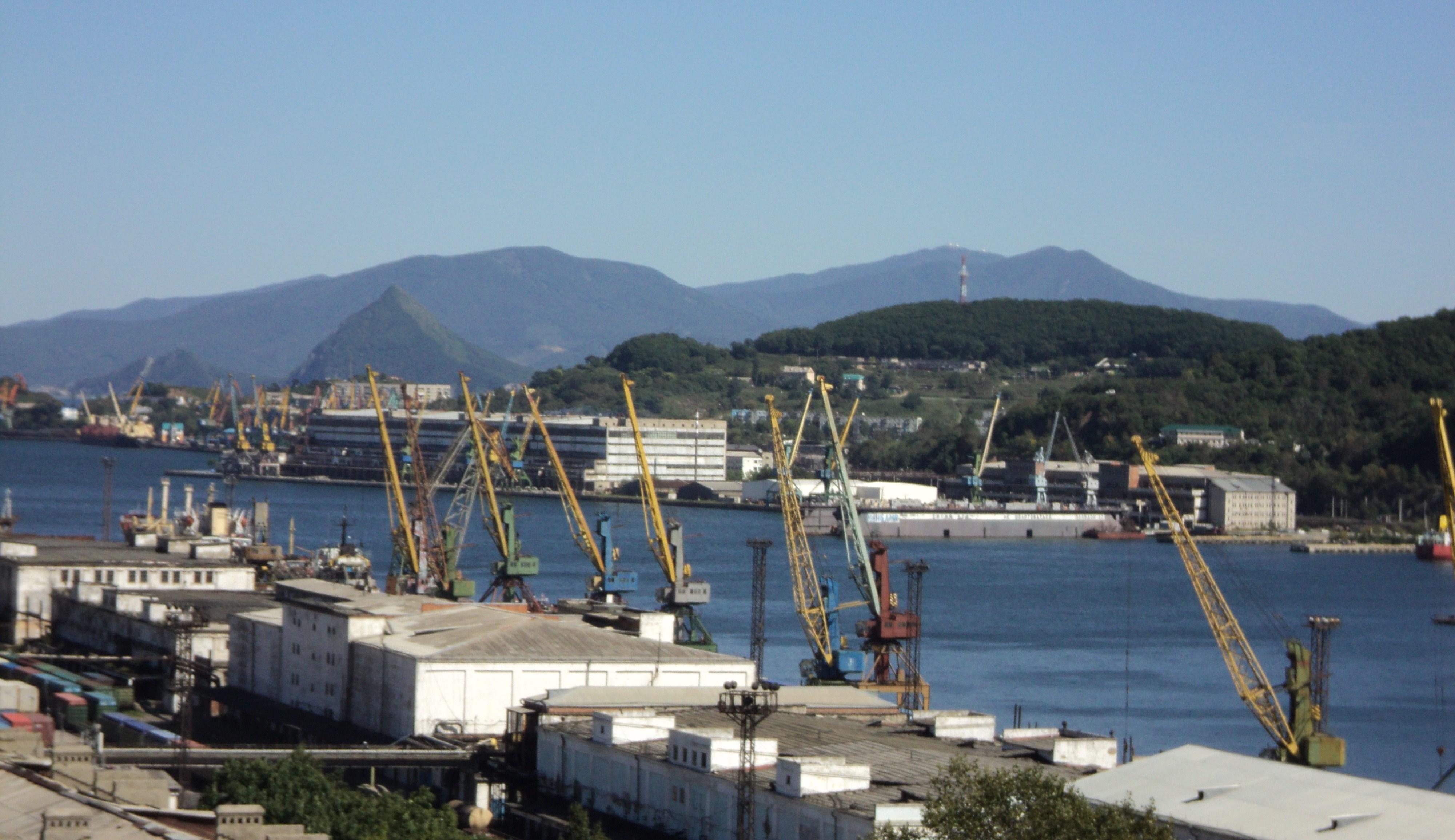 порт находка фото