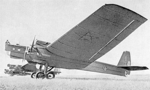 Тяжелый бомбардировщик ТБ-3 (АНТ-6) | 300x500