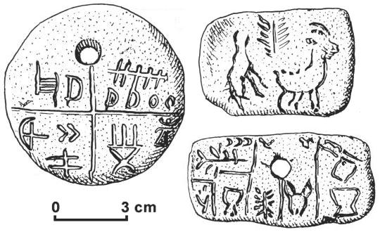 Артефакты и исторические памятники - Страница 4 Tartaria_tablets