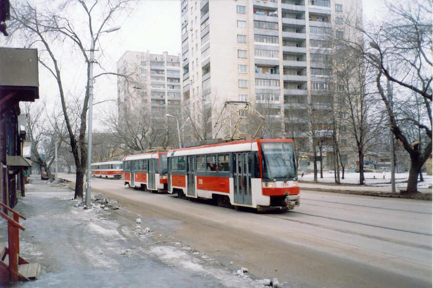 Самарский трамвай. Tatrat3rf.