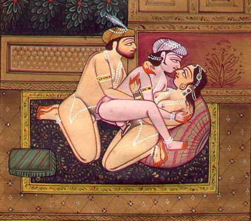 Групповой секс в камасутре