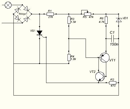 Тиристорный регулятор мощности
