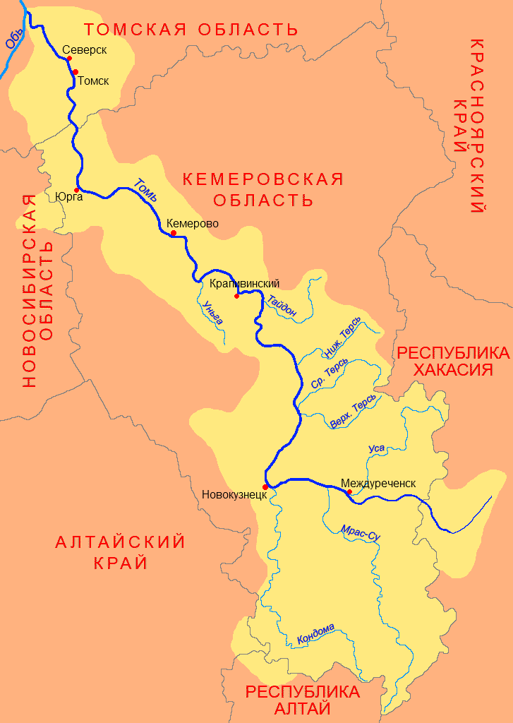 Бассейн Томи