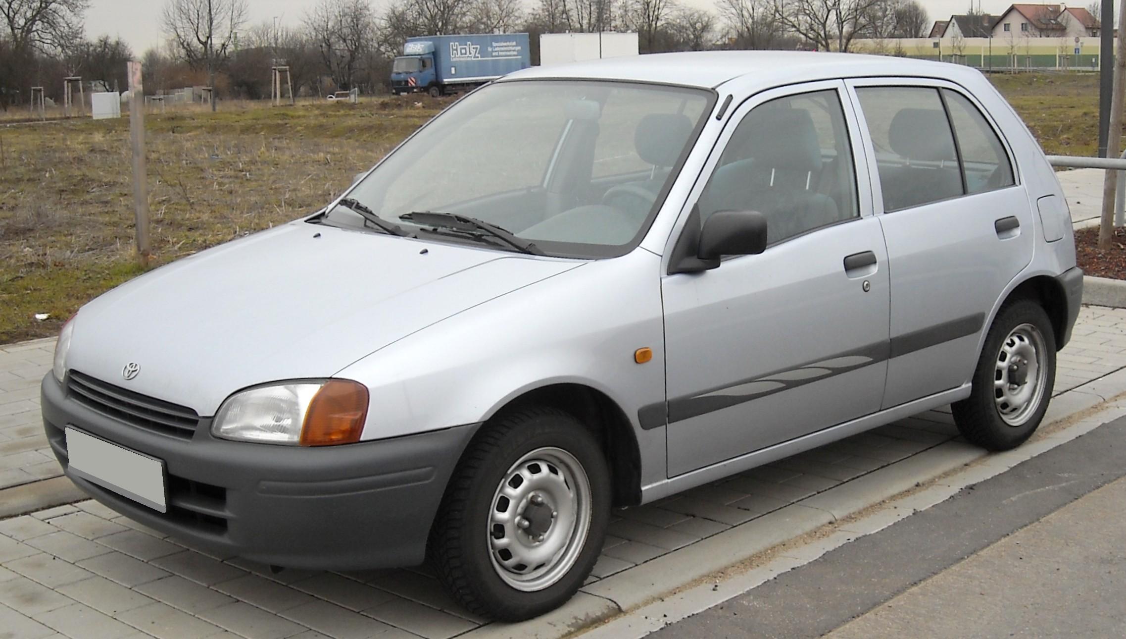 Toyota Starlet это Что такое Toyota Starlet