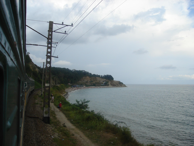 Фото в поезде на море 10 фотография