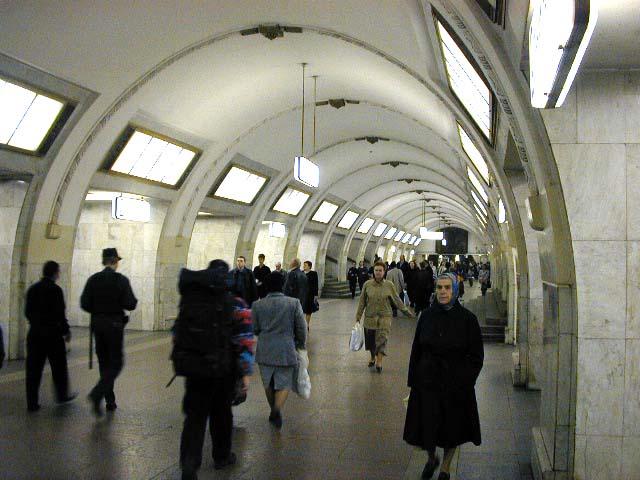 Схема перехода новокузнецкой