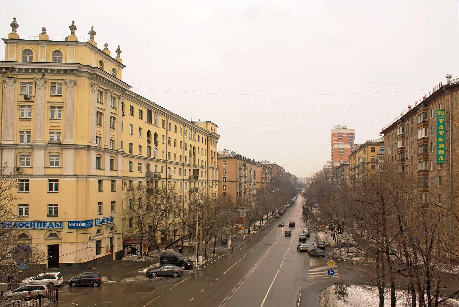 Фото москвы улица автозаводская