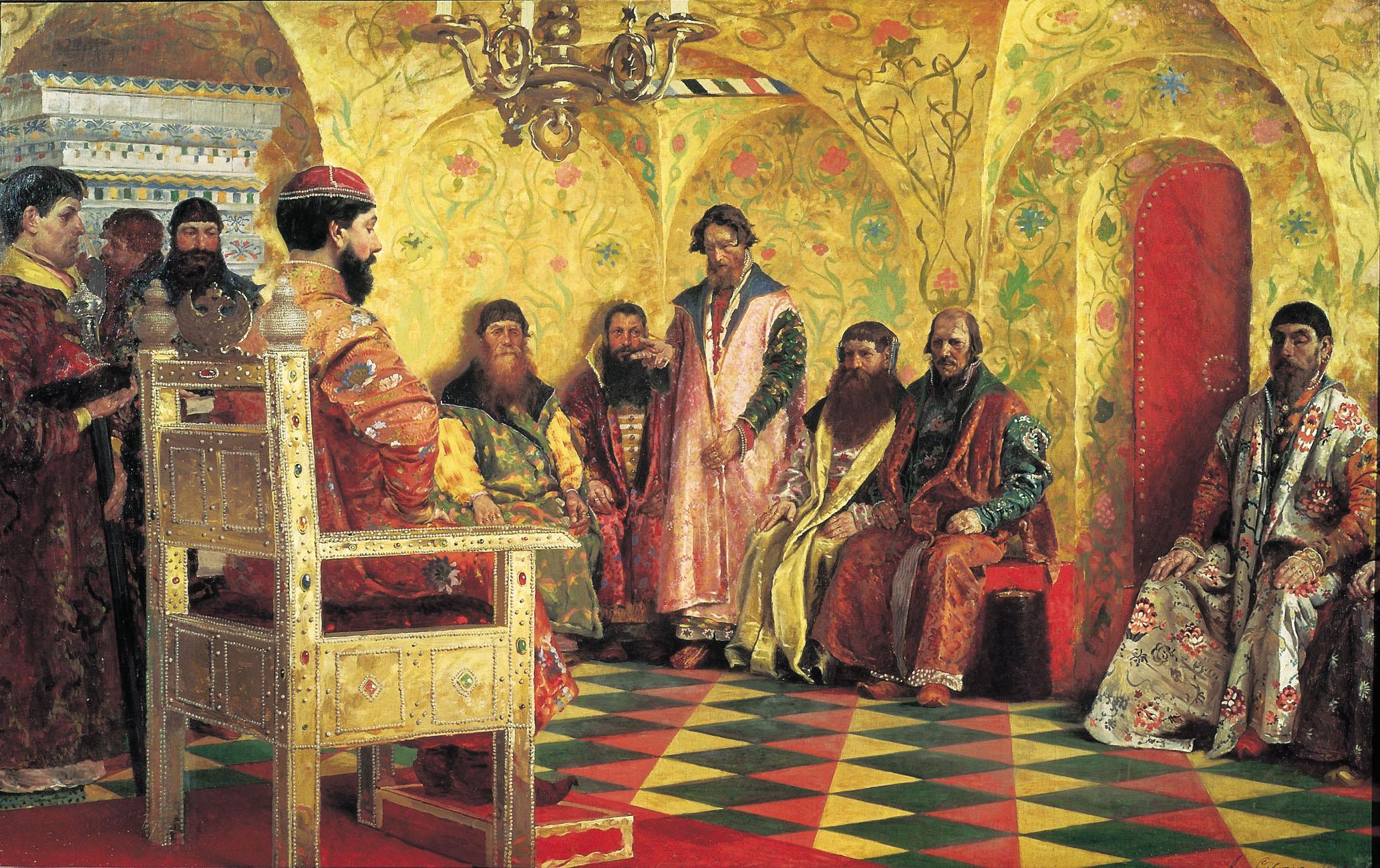 http://dic.academic.ru/pictures/wiki/files/84/Tsar_boyar_duma.jpg