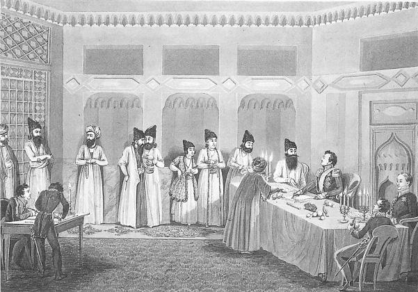 В этот день был подписан вечный мир с Персией