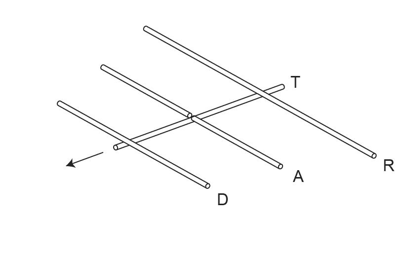 Схема антенны «волновой канал»