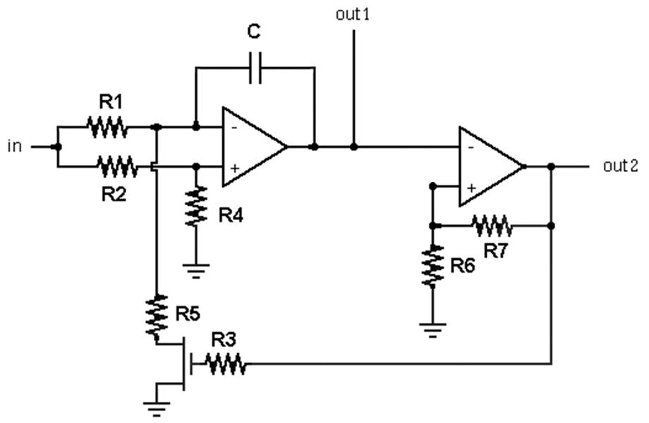 Схема аудио-ГУН