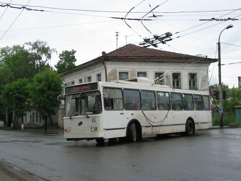 Троллейбус «ВМЗ-5298» № 16,