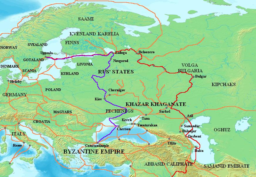 Волжский торговый путь