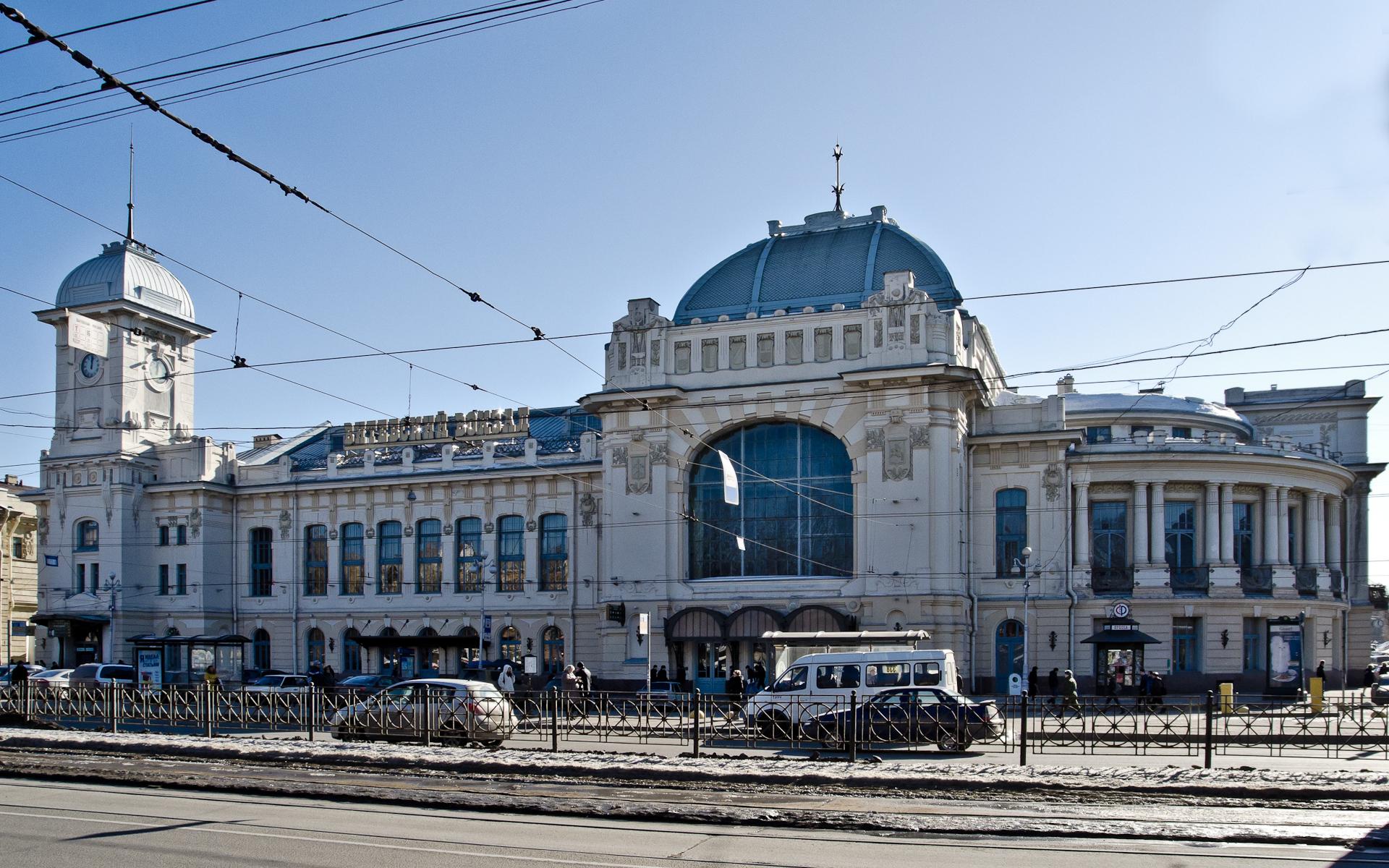 Витебский вокзал в петербурге - один из первых общественных зданий в стиле модерн
