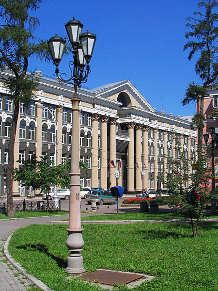 железной дороги в Иркутске