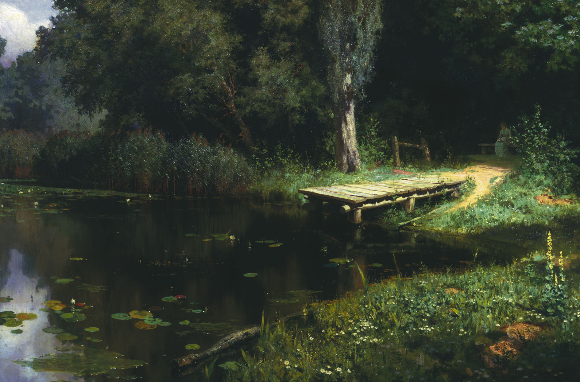 Заросший пруд (картина Поленова) - это ...: dic.academic.ru/dic.nsf/ruwiki/1794891