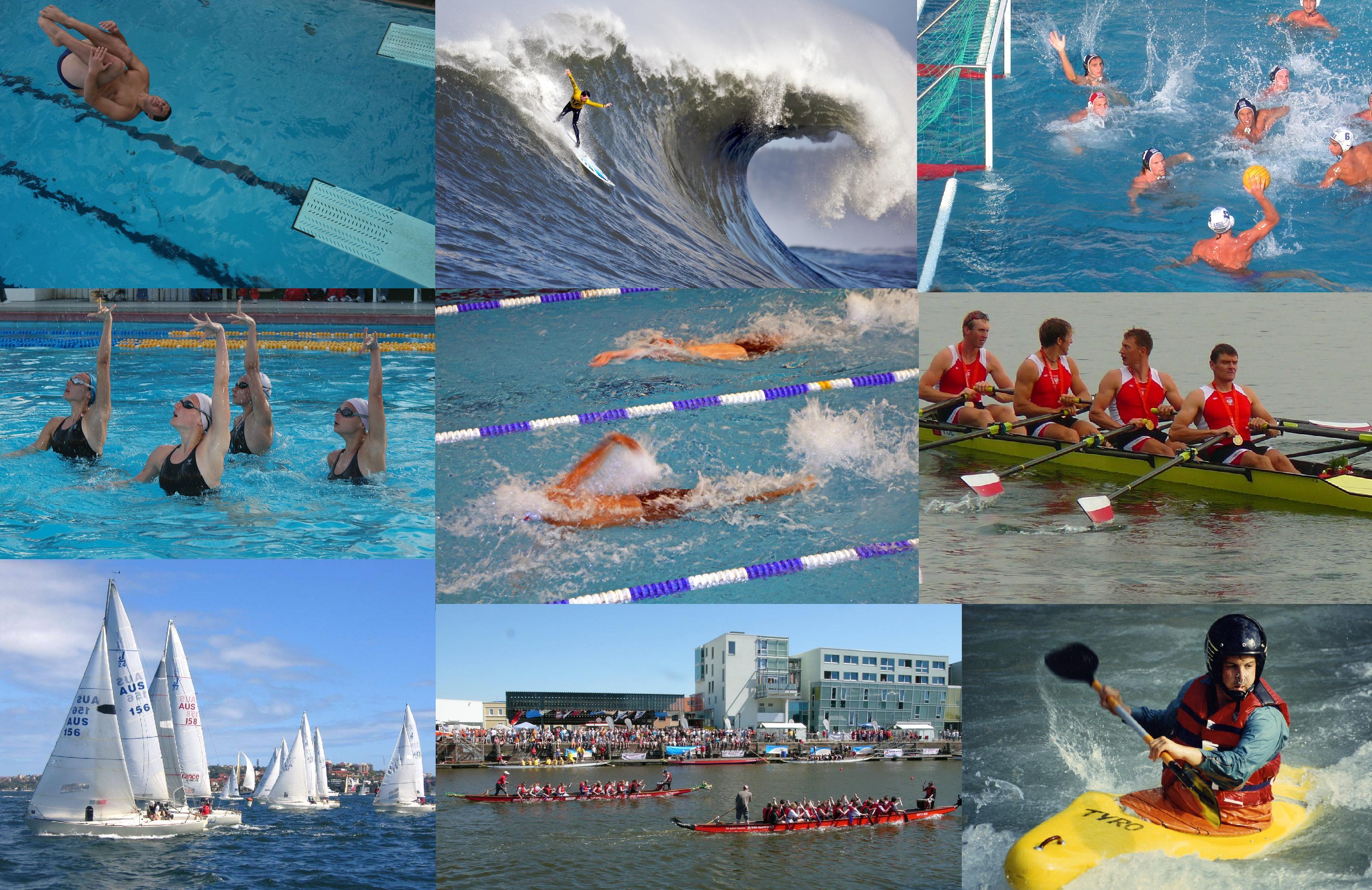 Водный вид спорта
