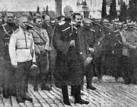 Русская армия генерала барона п н