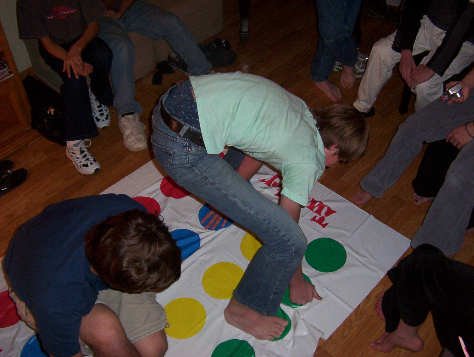 Twister Spielregeln