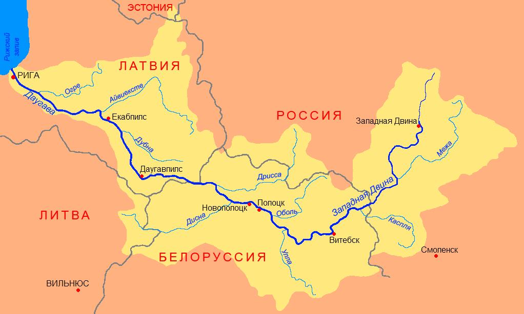 Бассейн западной двины