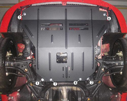 нужна ли защита картера двигателя chevrolet aveo