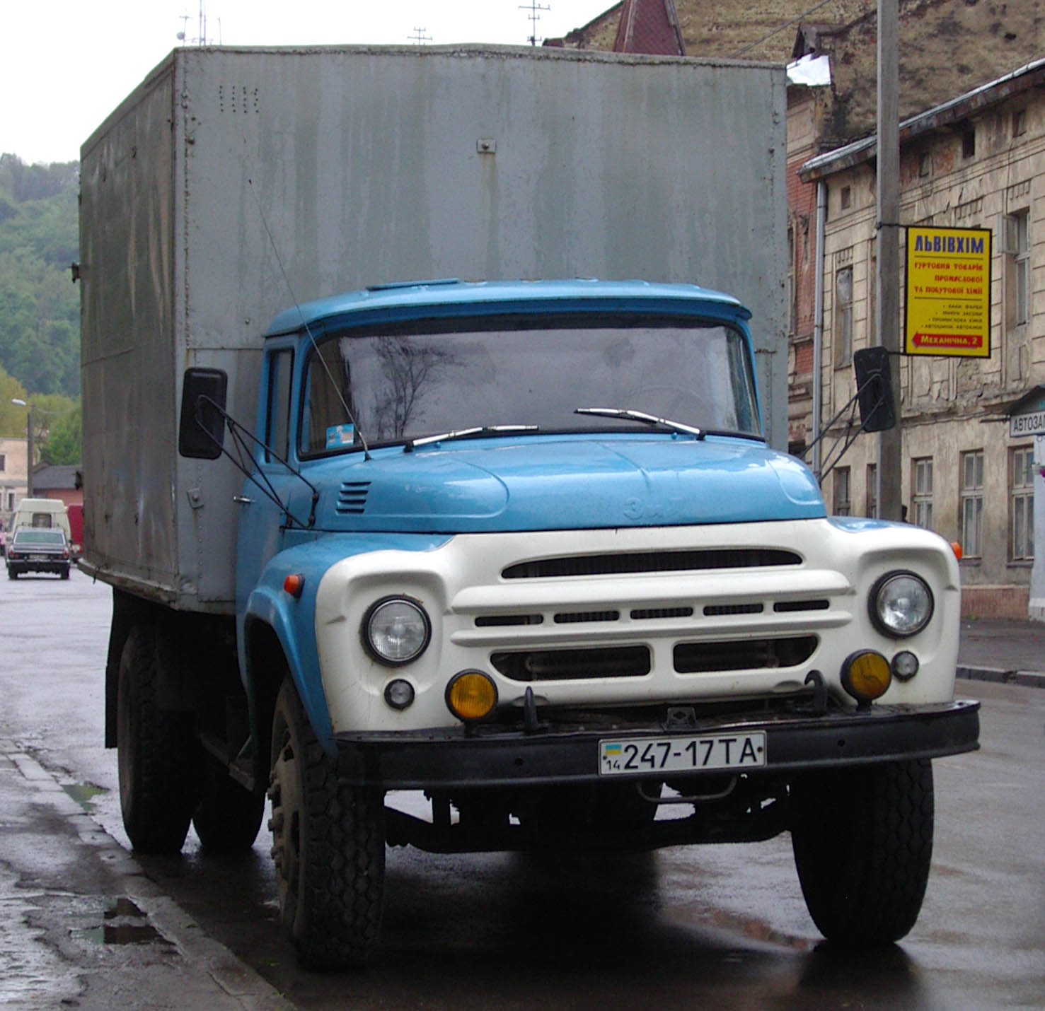 Уральский автомоторный завод UAMZ-ZIL-131_1260