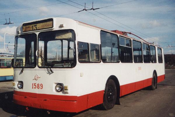 электрические схемы троллейбуса зиу-9.